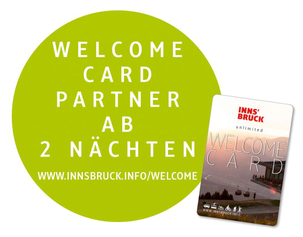 Welcomecard Innsbruck 2020